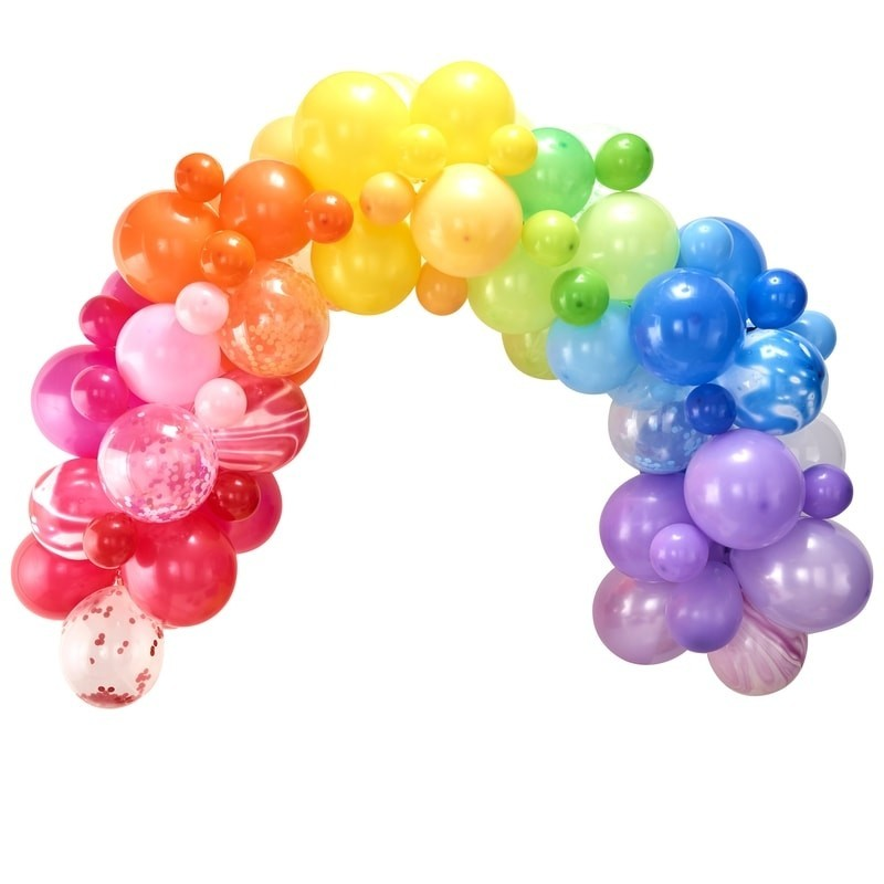Kit Arche 85 ballons colorés