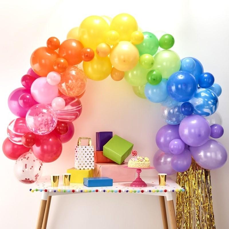 Kit Arche 85 ballons colorés