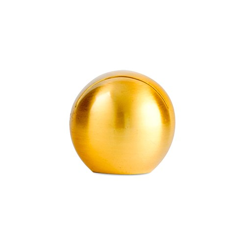 Marque place boule Dorée