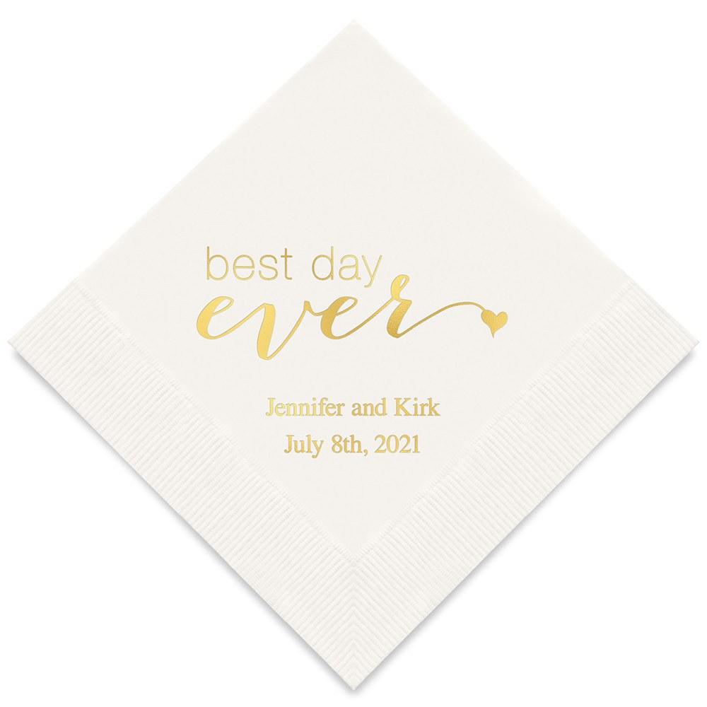 serviette-best-day-ever