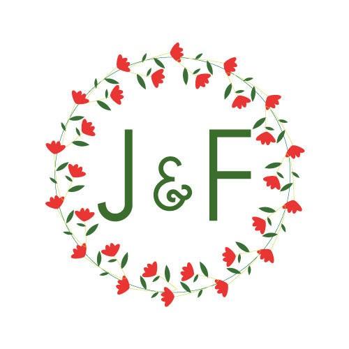 24 stickers Couronne de roses rouges