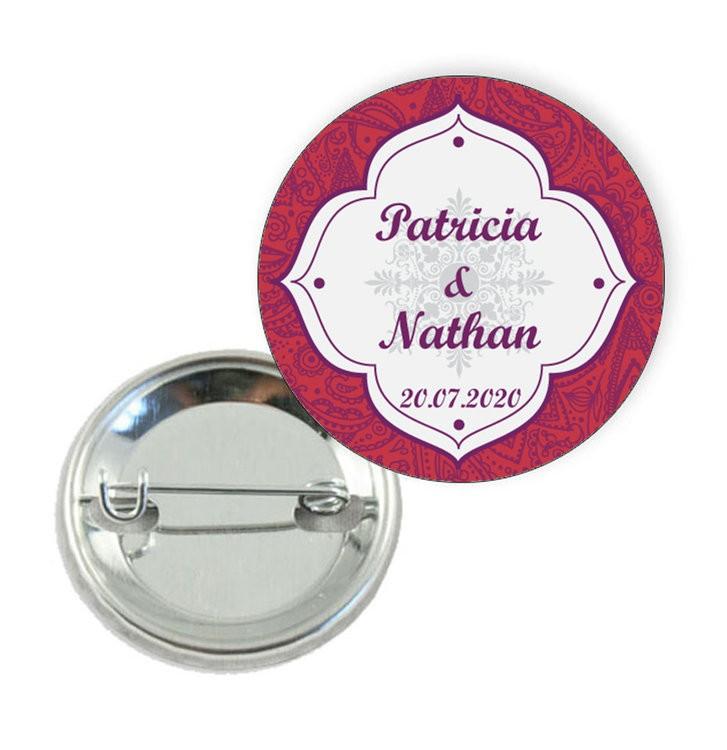 Badge motif oriental - Prix Dégressifs