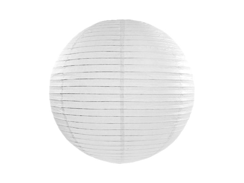 Lanterne papier Blanc 25 CM