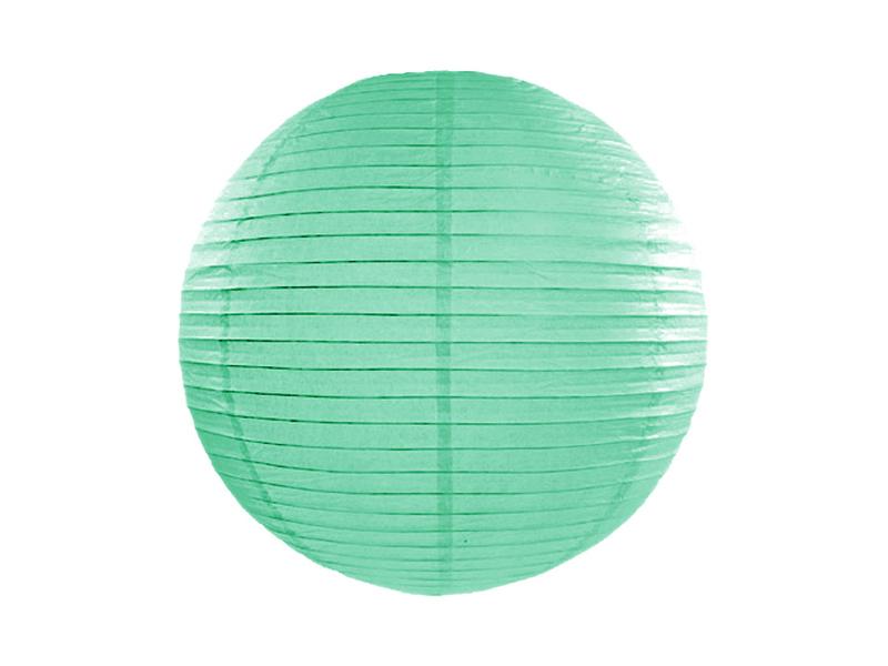 Lanterne papier Vert Menthe 25 CM