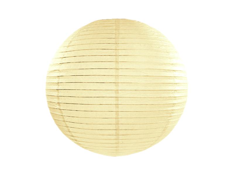 Lanterne papier Ivoire 25 CM