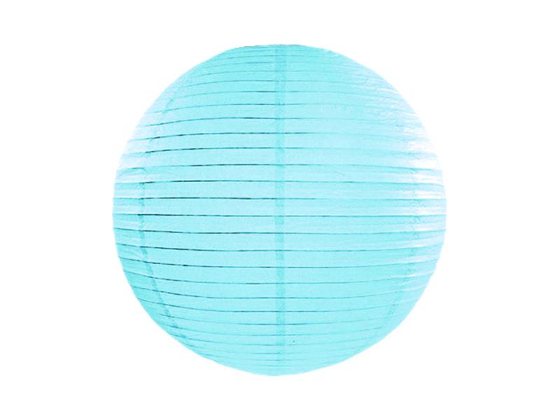 Lanterne papier Bleu Ciel 25 CM