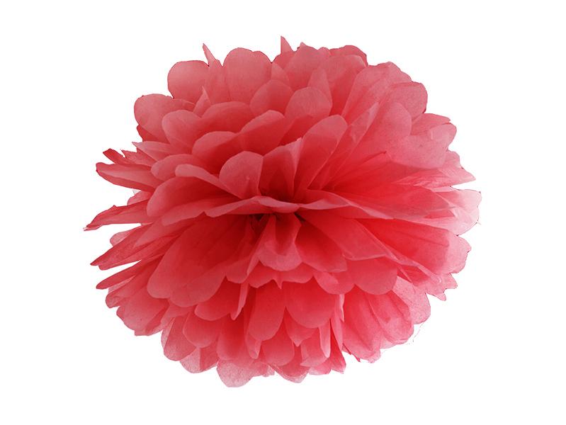pompon-papier-rouge
