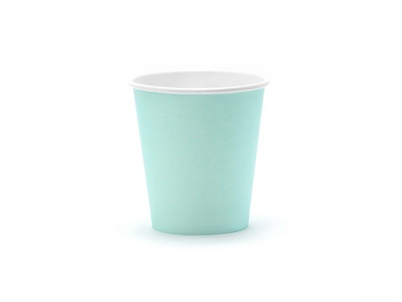 6 gobelets turquoise