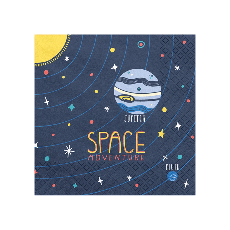 20 serviettes Espace
