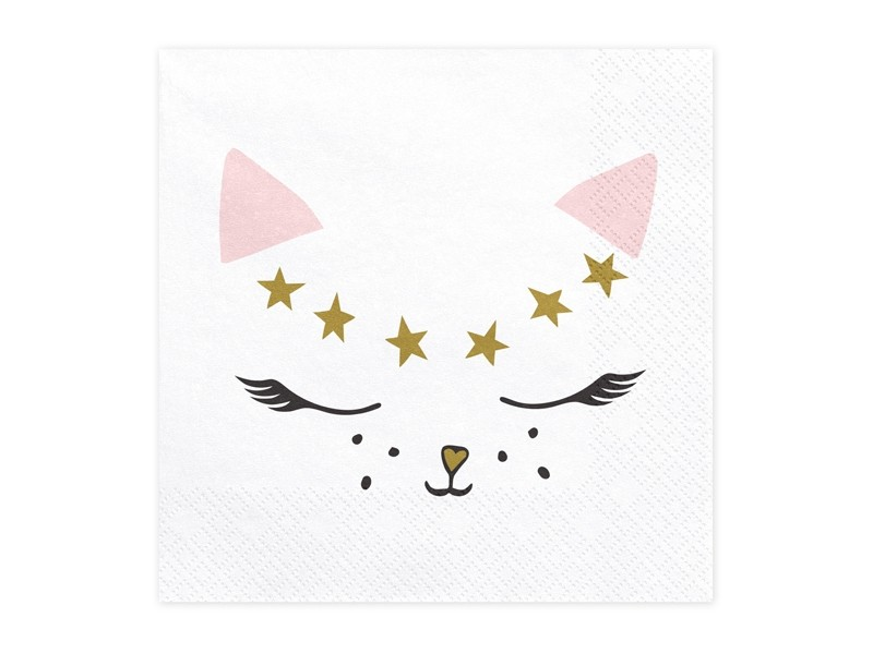 serviette-papier-chat