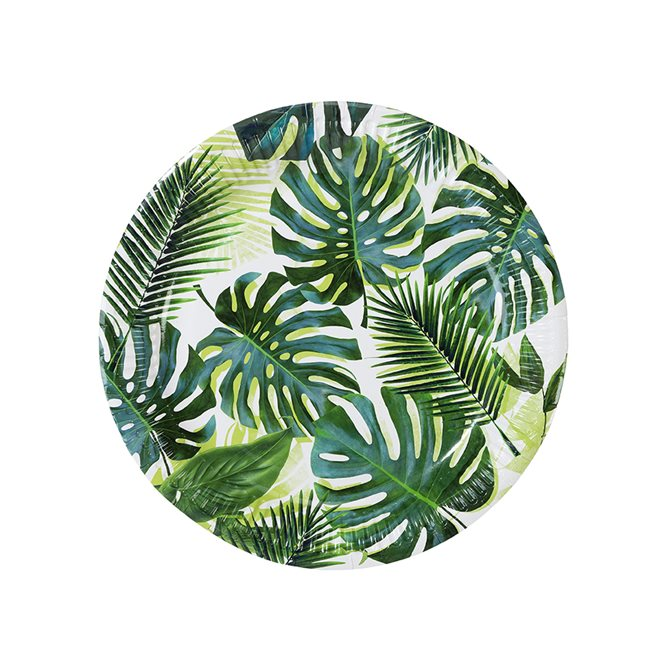 8 assiettes tropicales