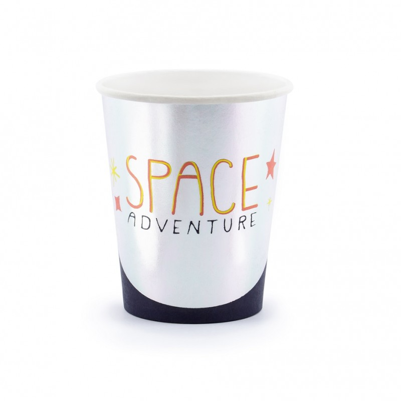 6 gobelets Espace