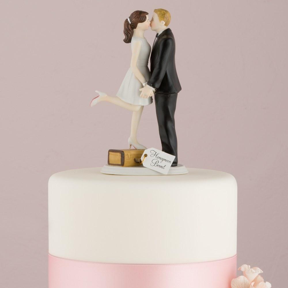 Figurine mariage en voyage