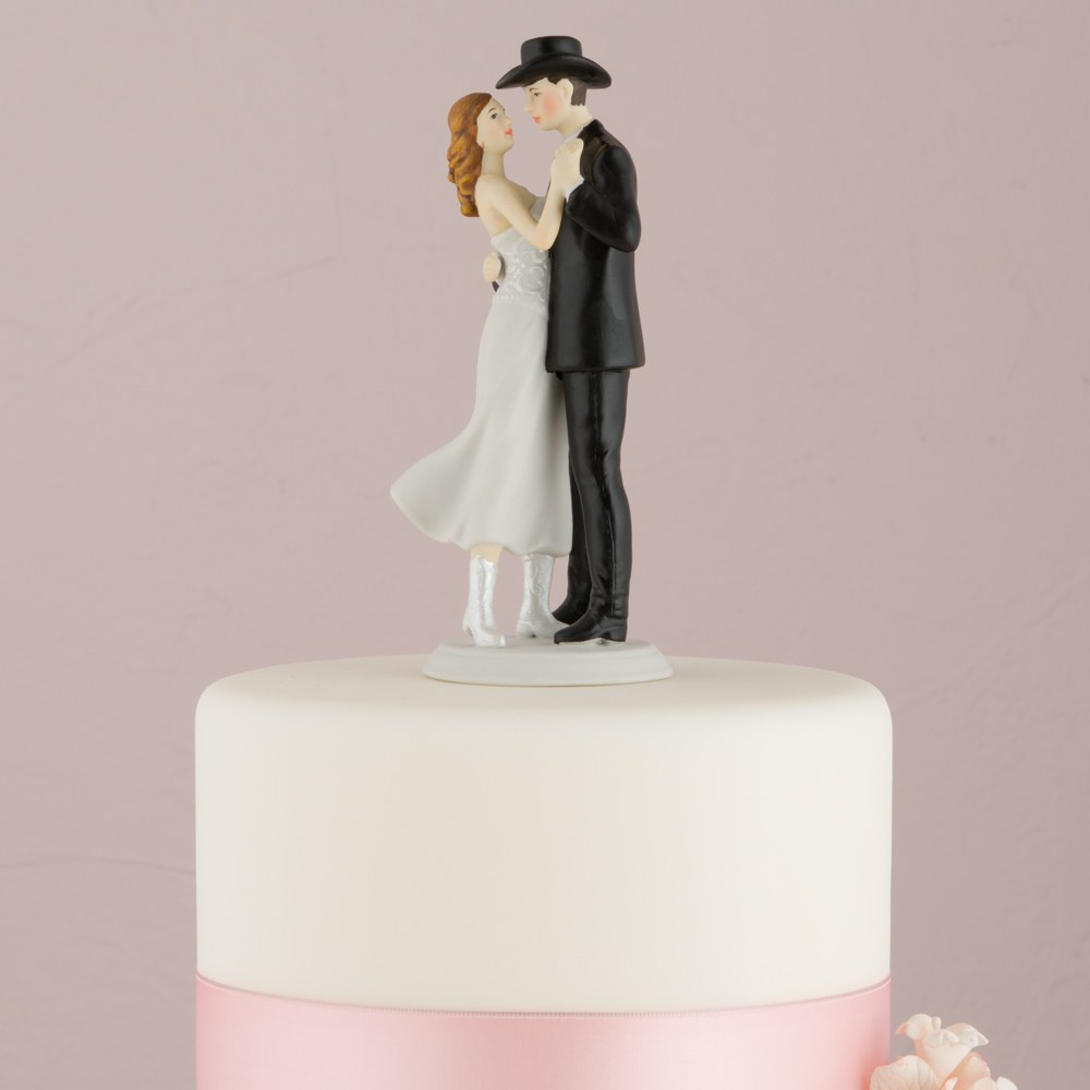 Figurine mariage Country