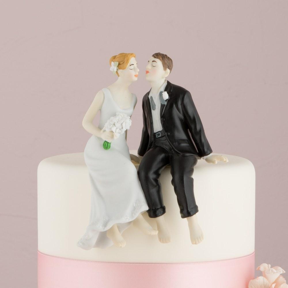Figurine Mariage couple assis