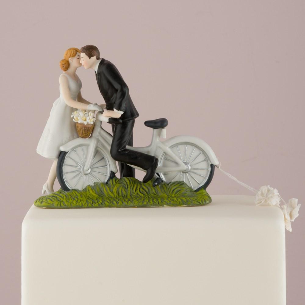 Figurine de mariage Balade en Vélo