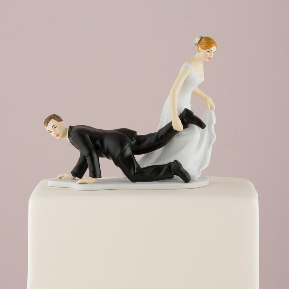 Figurine Mariage Mari à la traîne