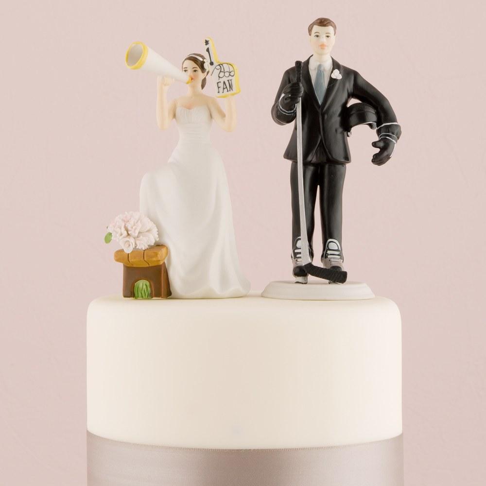 Figurine mariage Super FAN de foot