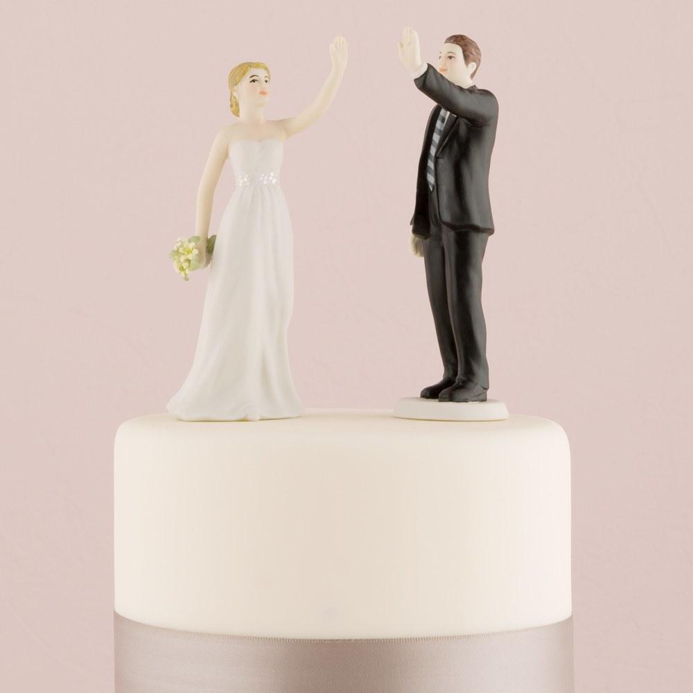 Figurine de mariés Give me five