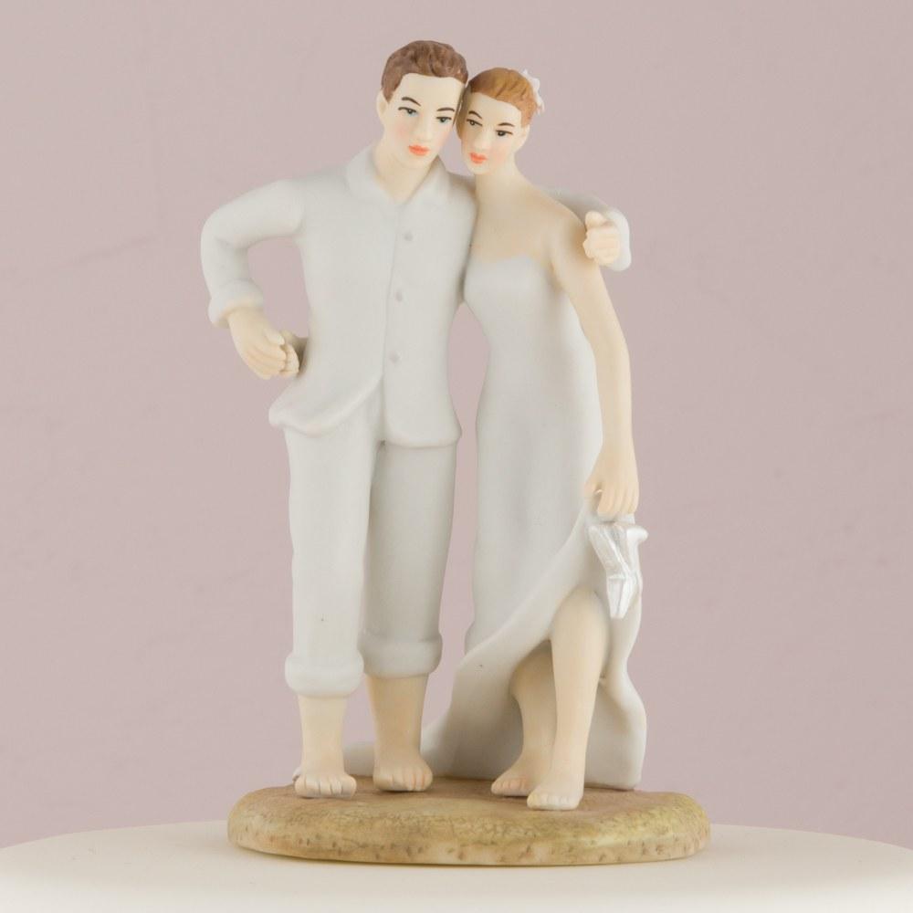Figurine Mariage Couple sur la plage