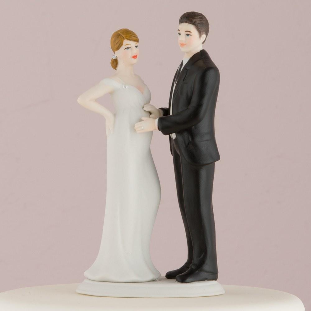 Figurine Mariage Femme Enceinte