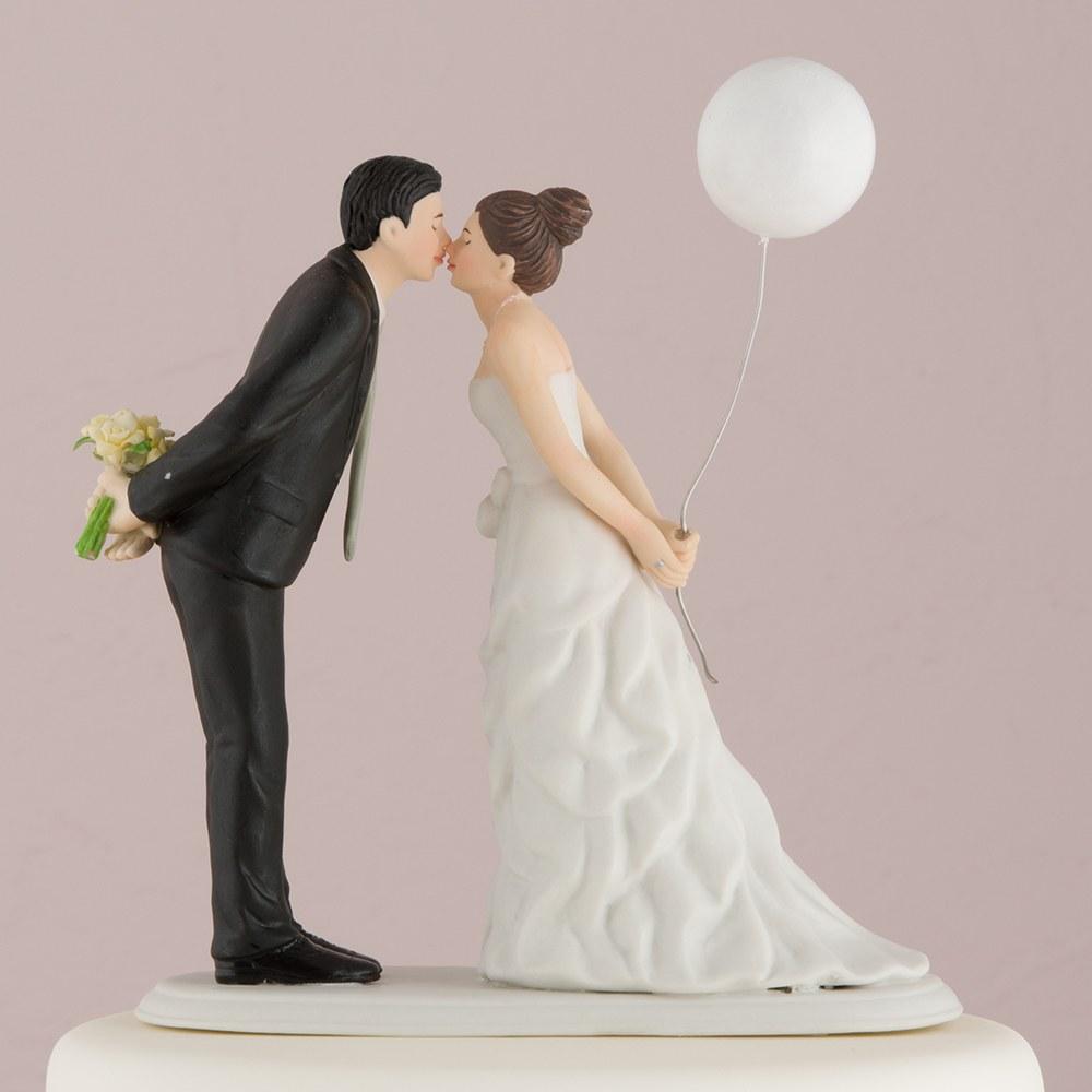 Figurine mariés au Ballon