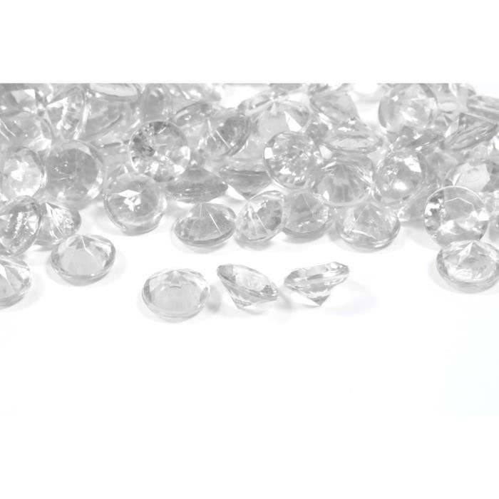 Assortiment de cristaux diamants
