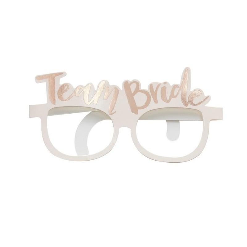 8 paires Lunette  Team Bride