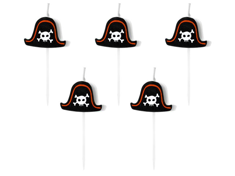 6 Bougies Anniversaire Pirate