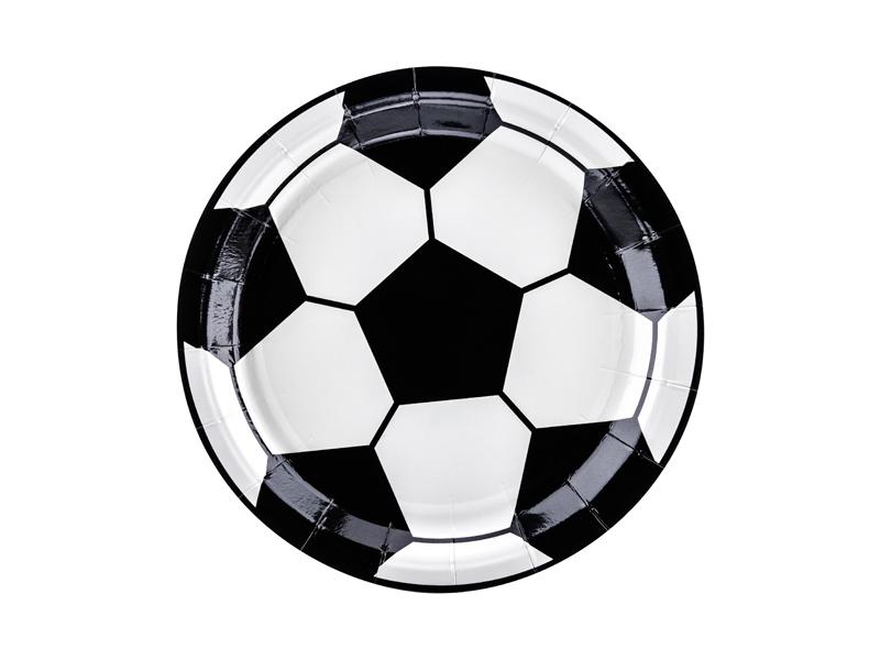6 assiettes Football