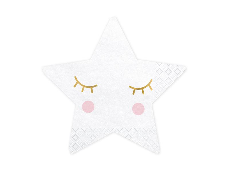 Serviette papier forme étoile