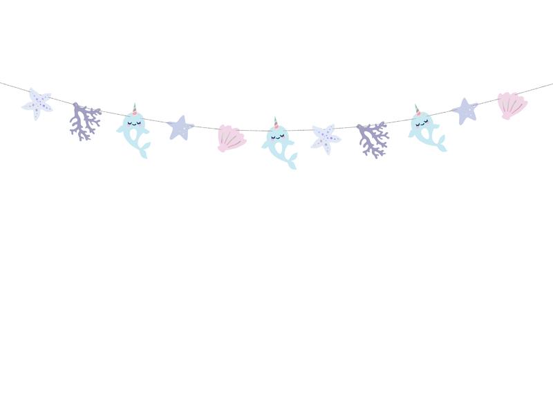 Guirlande anniversaire sirène