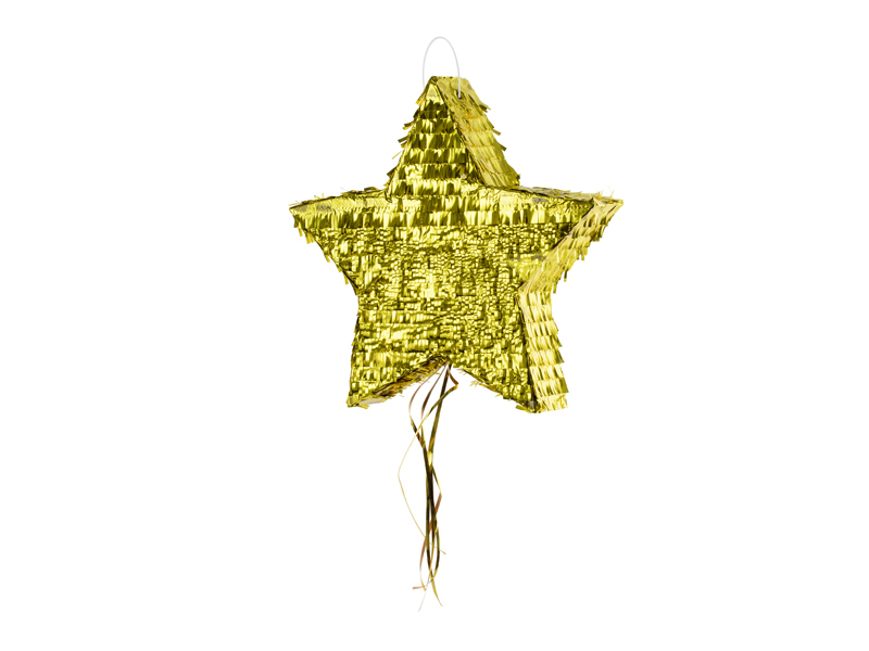 Pinata Anniversaire Etoile dorée