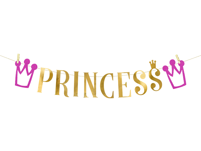 Guirlande anniversaire Princesse