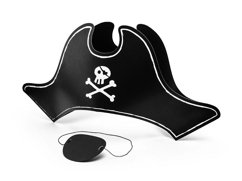 Deguisement Pirate Chapeau et Oeil