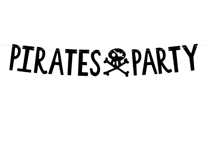 Guirlande Anniversaire Pirate