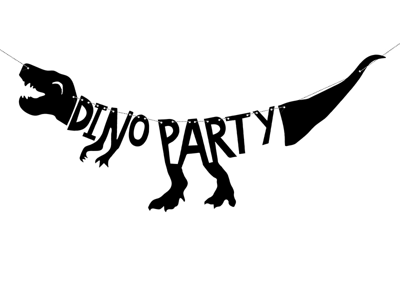 Guirlande anniversaire Dinosaure