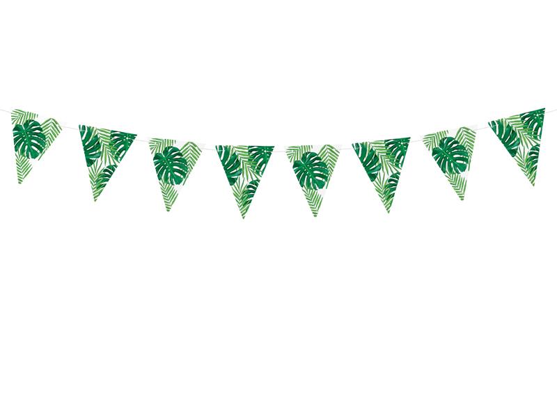 Guirlande anniversaire Tropical