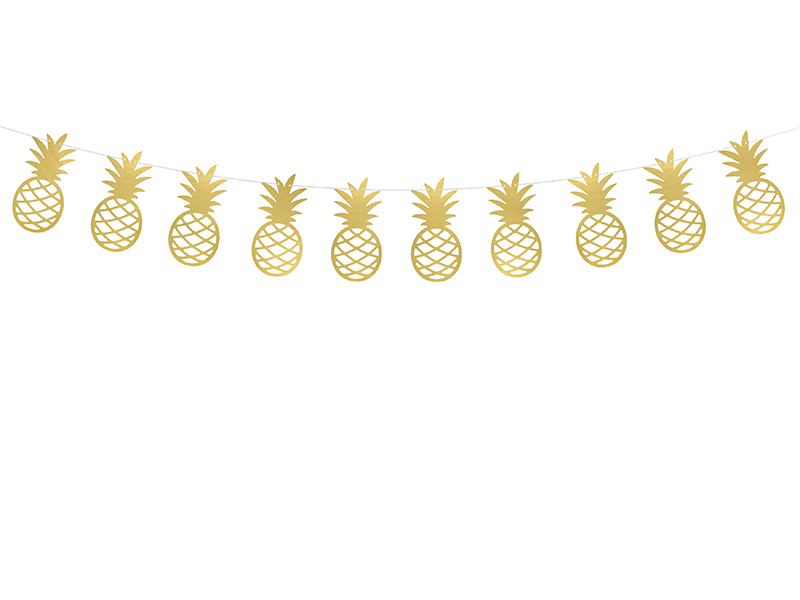 Guirlande anniversaire Ananas