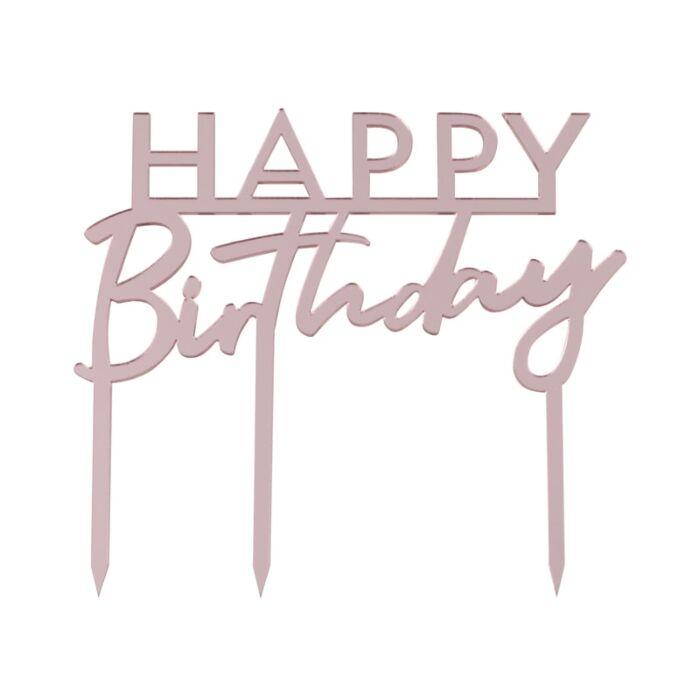 cake-topper-happy-birthday-rose
