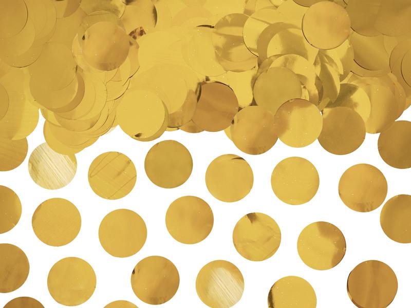Confettis ronds Dorés