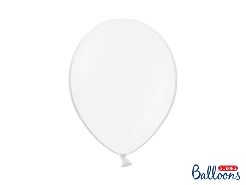 10 ballons Blancs 30 cm