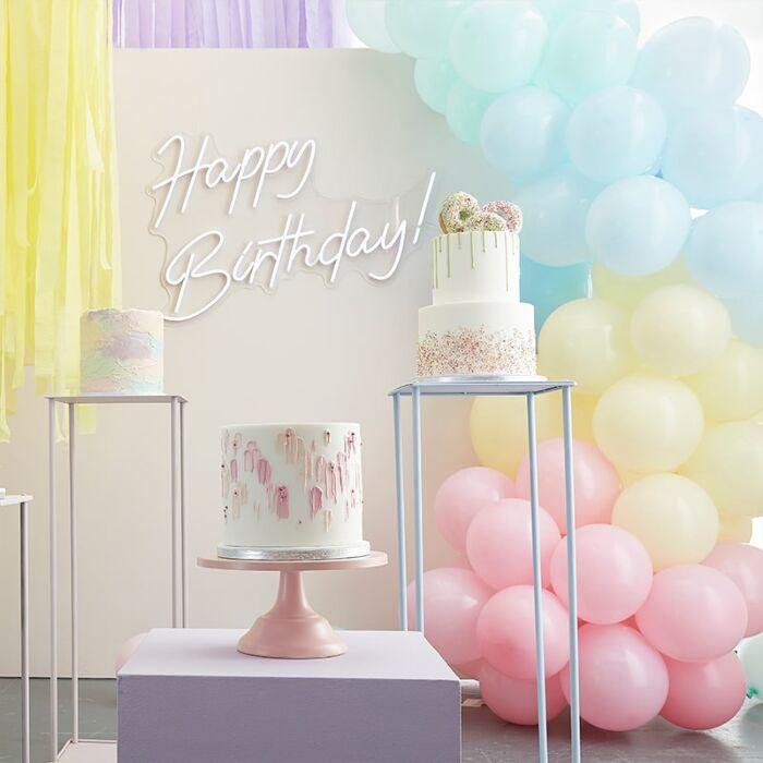 Kit guirlande ballons Pastels
