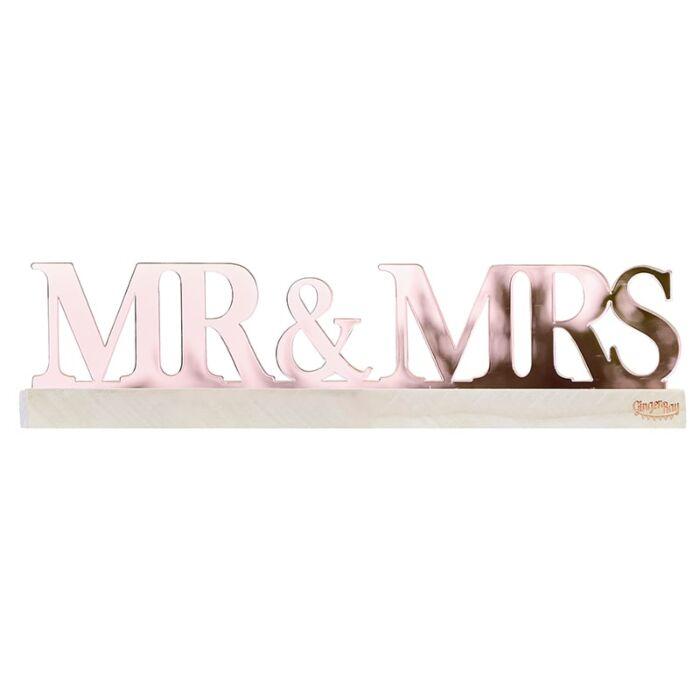 Lettes Mr et Mrs Rose Gold