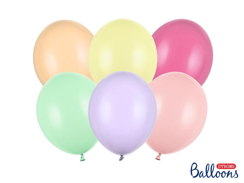 10 ballons Pastel - 30 cm