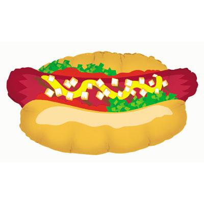 Ballon forme Hot Dog 81 cm
