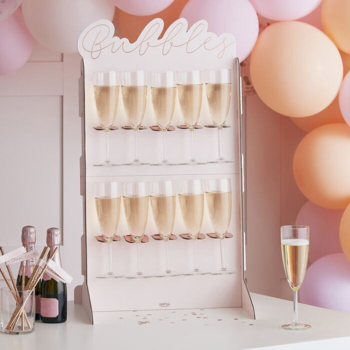 Présentoir support pour coupes de champagne