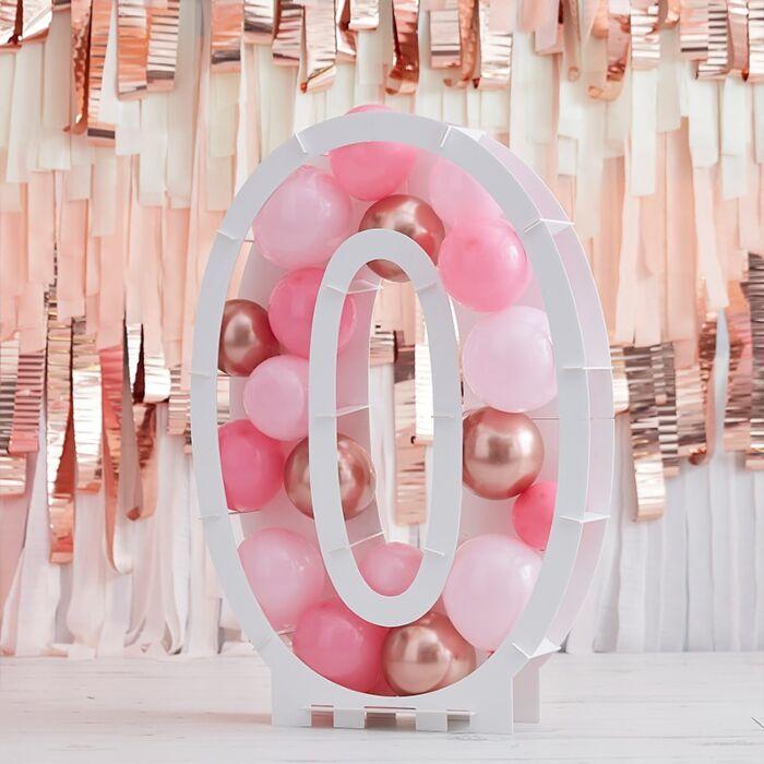 Structure Ballons Chiffre 0 - 81 cm