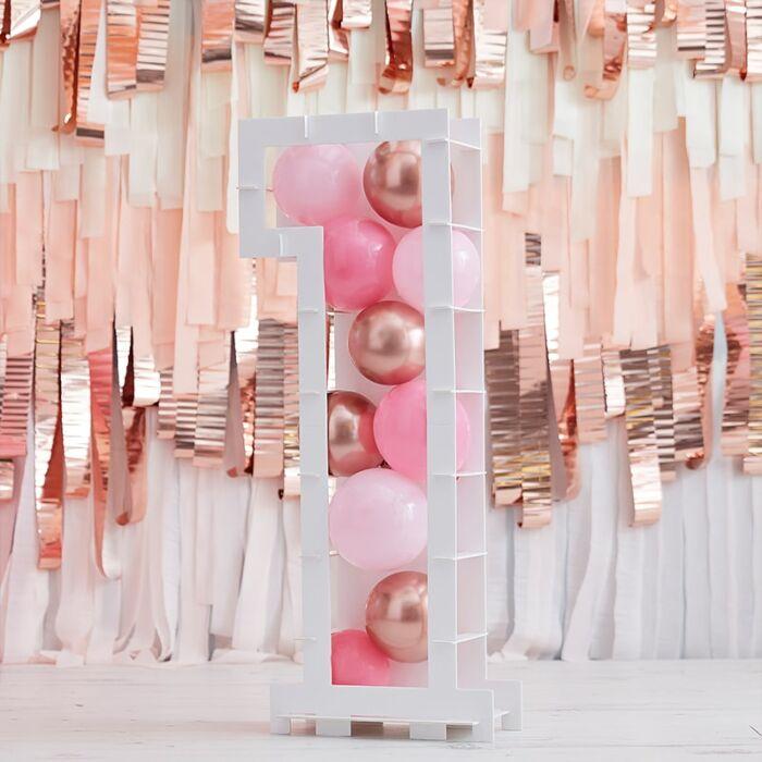 Structure Ballons Chiffre 1 - 81 cm