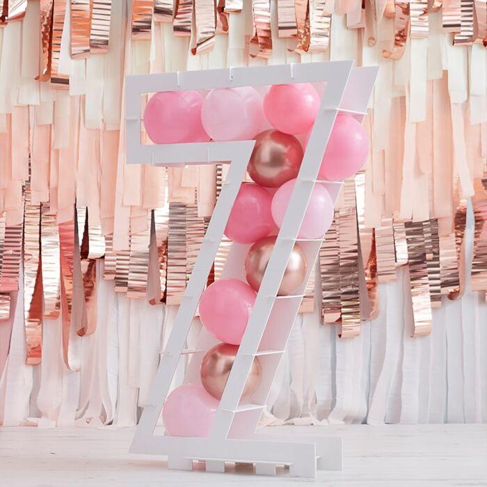 Structure Ballons Chiffre 7 - 81 cm